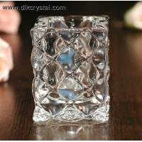 Buy cheap crystal candle holder Glass candle holders ,crystal candle stick votive candle holders craft pulicrystal-328 from wholesalers