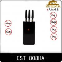 Security 3G Portable Cell Phone Jammer 25dBm CDMA / GSM Blocker