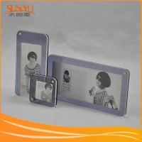 Buy cheap Beautiful Clear Acrylic Family Photo Frames from wholesalers