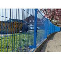 Buy cheap 4x4 Welded Wire Mesh Fence Panels Powder Coated and Hot Dipped Construction from wholesalers