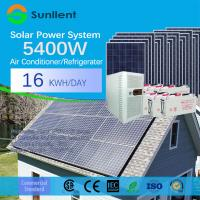 Buy cheap 5kVA commercial standard Air Conditioner Supportable off-Grid Solar Power System for Home from wholesalers