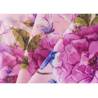 Buy cheap Waterproof Floral Chiffon Fabric 68 Gsm Digital Chiffon Dress Material 75D-1800T from wholesalers