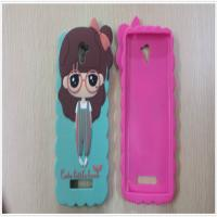 Buy cheap custom soft PVC/silicone/rubber mobile phone cases with cute design for decoration from wholesalers