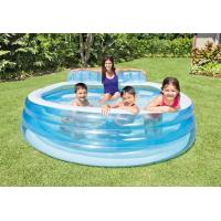 China PVC Indoor / Outdoor Swim Center Family Lounge Pool For kid & Adult With Backrest on sale