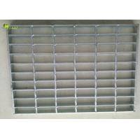 Buy cheap Anti Slip Car Parking Steel Lattice Drainage Grating Welded Serrated Stair Floor from wholesalers