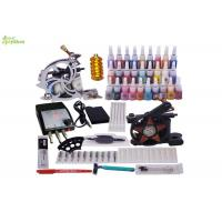 Buy cheap Horizontal Starter Tattoo Kits With 1 Skin Marking Pen / 1 pc Tattoo Machine Grip from wholesalers