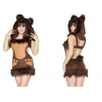 Buy cheap Cute Bodacious Bear Adult Party Costumes Clubwear  For Native American Indian from wholesalers