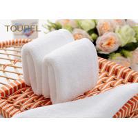 Custom 100% Cotton Hotel Face Towel Yarn Dyed Jacquard Bar Towel 200 - 600gsm