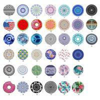 Buy cheap 100% polyester microfiber round beach towels with tassels extra large size 150cm circle shape beach towel from wholesalers