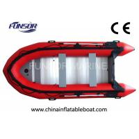 Buy cheap Heavy Duty PVC Foldable Inflatable Boat 6 Person Inflatable Dinghy With Motor from wholesalers