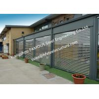 Buy cheap Commercial Shop Front Polycarbonate Transparent Slat Shutter Door Aluminum Roll up Security Doors from wholesalers
