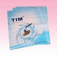 Buy cheap white plastic bags packaging printing wholesale with die-cutting handle supplier from wholesalers