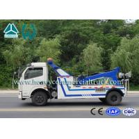 Lift Strength Wreckers Tow Trucks With Hydraulic System Dongfeng Chassis