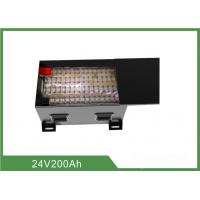 Buy cheap Multi Function Floor Sweeper Battery 24V 200AH Low Self - Discharge from wholesalers