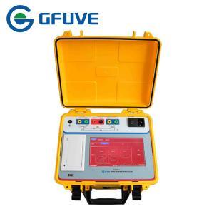 Buy cheap High Precision Portable CT PT Analyzer 0.02% / 0.05% Ratio Error With Printer product
