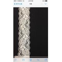 Buy cheap Newly spandex fabric fancy flower embroidered dyeable stretch lace trim from wholesalers