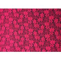 Buy cheap Rose Exquisite Daisy Nylon Lace Fabric Multi functional Spandex Lace Fabric for Dress from wholesalers