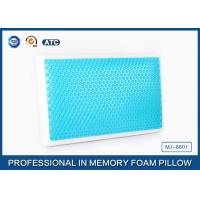 Buy cheap Standard size memory foam cooling gel pillow with different gel layer from Wholesalers