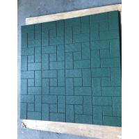 Buy cheap Environment Friendly Rubber Playground Tiles Acid And Alkali Resistance from wholesalers