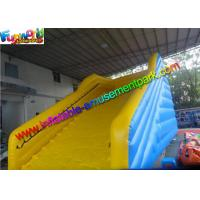 Buy cheap Durable Inflatable Sports Games Zorb Ramp Slide For Human Hamster Ball Rolling from wholesalers