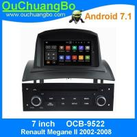 Buy cheap Ouchuangbo auto radio player android 7.1 for Renault Megane II 2002-2008 with calendar 3G WIFI  anti-shock system from wholesalers