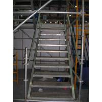 Buy cheap Aluminum Cuplock System Scaffolding Metal Stair Stringers Hot Dip Galvanization from wholesalers