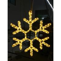 Buy cheap outdoor ornament /christmas hanging snowflake motif LED light from wholesalers