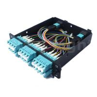 Buy cheap MPO / male - LC 24 cores Fiber Optic Distribution Frame with patch cord from wholesalers
