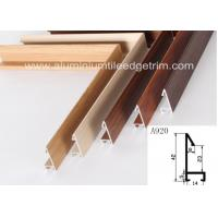 Buy cheap Fashionable Aluminum Sectional Picture Frames Heat Transfer Printing Wood Grain Effect from wholesalers