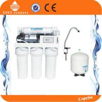 Manual Flush Reverse Osmosis Water Filtration System Pur Water Filter With 3.2 Plastic Tank
