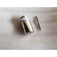 Buy cheap 50mm Brushed Stainless Steel Square Glass Spigots from wholesalers