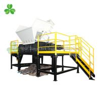 Buy cheap Yellow Dual Shaft Shredder / Garbage Shredder Machine 2 Tons / Hour Capacity from wholesalers