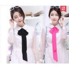 Buy cheap 2017 Elegant Handbag Handle Ribbon Luxury Ladies Imitated Silk Scarf satin 4.8*198cm from wholesalers