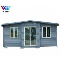 Buy cheap New Zealand standard prefabricated expandable container house price with bathroom product
