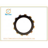 Buy cheap SUZUKI110 / QS110 Motorcycle  Clutch Friction Plate Stable Quality / Rubber or Paper Base Motorcycle Clutch Spare Parts product