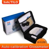 Buy cheap 3nh glossmeter large touch screen NHG268 gloss meter with tri-angle 25/60/85 from wholesalers