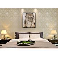 Buy cheap European Retro Vintage Wallpaper Non woven with Elegant Floral and Bronzing Treatment product