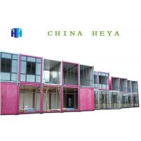 Flexible Combination Movable Prefab House Container Hotel Rooms Luxury Heat Proof