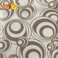 Buy cheap 0.8mm-1.2mm PU Synthetic Polyurethane Leather Fabric For Throw Pillow Flocking Design product