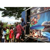 Buy cheap Flexible Truck 5D movie theater system / 5D Cinema Equipment With Electronic System product