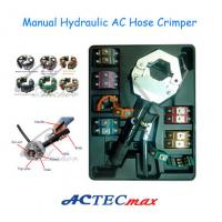 Buy cheap ISO 9001 TS 16849 AC Hose Crimping Tool , Manual Hydraulic AC Hose Crimper from wholesalers