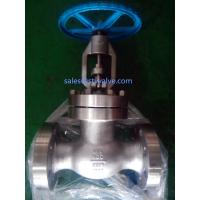 Buy cheap ANSI 900LB Duplex S31803(2205) Globe valve from wholesalers