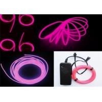 Buy cheap 100~150cd.m2 Polar Light 3 Glow EL Wire Purple For Children Placing , Home from wholesalers