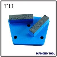 Buy cheap Double Segments Trapezoid Diamond Pad Concrete Grinding Tools from wholesalers