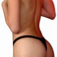 Buy cheap V-shaped Lycra Thong G-string in Bikini Style, Available in Various Colors from wholesalers
