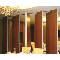 Buy cheap Modern Commercial Lightweight Acoustic Moveable Operable Walls ,Sliding Wall Panels from wholesalers