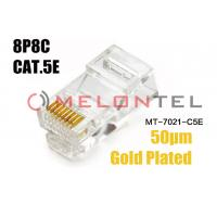 Buy cheap 8P8C  Cat3 Telephone Connector End Rj11 6p4c Modular Plugmodular Solid Connector from wholesalers