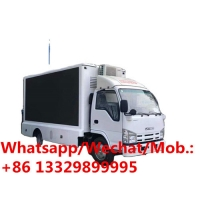 Buy cheap cheaper price ISUZU 4x2 Digital LED Advertising Truck for Sale, HOT SALE! good quality mobile outdoor LED screen truck from wholesalers