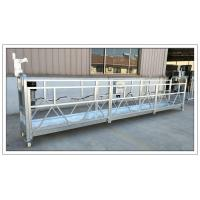 Buy cheap Aluminium ZLP630 6m counter weight suspended platform, building construction equipment from wholesalers