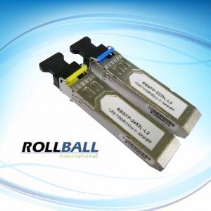 Buy cheap 20Km ,BIDI SFP Module , Rollball SFP Module, 1.25Gbs product